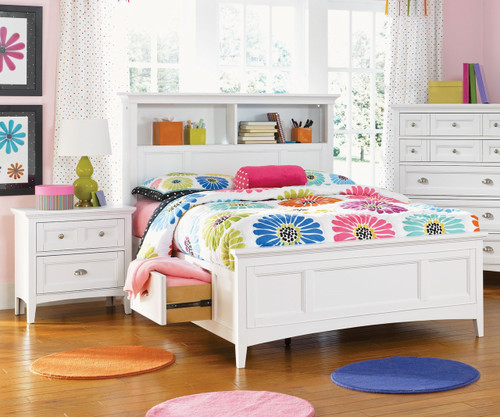 Kenley Full Size Bookcase Bed With Storage Y1875 68 Magnussen Home