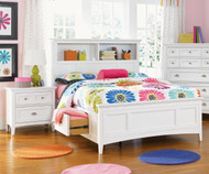 Kenley Bookcase Bed with Storage Full Size | Magnussen Home | MHY1875-68X