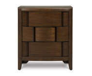 Twilight 3 Drawer Nightstand | Magnussen Home | MHY1876-01
