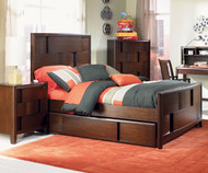 Twilight Panel Bed Twin Size | Magnussen Home | MHY1876-54