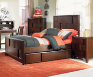 Twilight Panel Bed Full Size | Magnussen Home | MHY1876-64