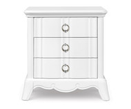 Gabrielle 3 Drawer Nightstand | Magnussen Home | MHY2194-01