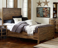 Braxton Panel Bed Twin Size | Magnussen Home | MHY2377-54