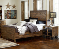 Braxton Panel Bed with Storage Twin Size | Magnussen Home | MHY2377-55