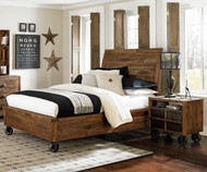 Braxton Island Bed Full Size | Magnussen Home | MHY2377-60