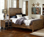 Braxton Panel Bed with Storage Full Size | Magnussen Home | MHY2377-65