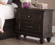 Calistoga 2 Drawer Nightstand | Magnussen Home | MHY2590-01