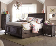 Calistoga Panel Bed with Trundle Full Size | Magnussen Home | MHY2590-64X