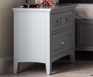 Graylyn 2 Drawer Nightstand | Magnussen Home | MHY3572-01