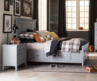 Graylyn Panel Bed with Storage Twin Size | Magnussen Home | MHY3572-54X