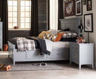 Graylyn Panel Bed with Storage Full Size | Magnussen Home | MHY3572-64X