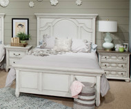Hancock Park Panel Bed Twin Size | Magnussen Home | MHY3681-54