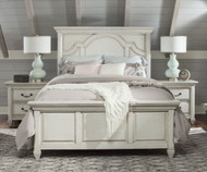 Hancock Park Panel Bed Full Size | Magnussen Home | MHY3681-64