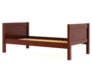 Maxtrix Twin Size Bed Chestnut 1 | Maxtrix Furniture | MX-1000-CP