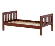 Maxtrix Twin Size Bed Chestnut 2 | Maxtrix Furniture | MX-1000-CS