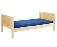 Maxtrix Twin Size Bed Natural 1 | Maxtrix Furniture | MX-1000-NP