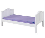 Maxtrix Twin Size Bed White | Maxtrix Furniture | MX-1000-WC