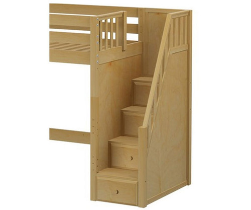 Maxtrix Components High Loft With Stairs Conversion Kit | Maxtrix Furniture  | MX 1730