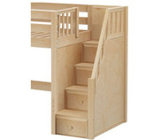 Maxtrix Components Mid Loft with Stairs Conversion Kit | Maxtrix Furniture | MX-1730-MID