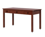 Maxtrix Long Desk w/ Tilt Top Chestnut | Maxtrix Furniture | MX-2460-C