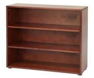 Maxtrix 3 Shelf Bookcase Chestnut | Maxtrix Furniture | MX-4720-C
