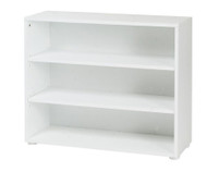 Maxtrix 3 Shelf Bookcase White | Maxtrix Furniture | MX-4720-W