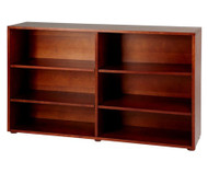 Maxtrix 6 Shelf Bookcase Chestnut | Maxtrix Furniture | MX-4760-C