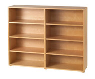 Maxtrix 8 Shelf Bookcase Natural | Maxtrix Furniture | MX-4780-N
