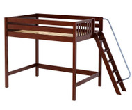Maxtrix CHUNKY High Loft Bed Full Size Chestnut | Maxtrix Furniture | MX-CHUNKY-CX