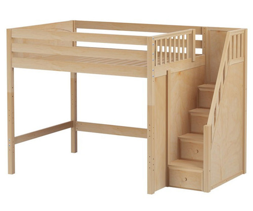 Maxtrix ENORMOUS High Loft Bed with Stairs | Matrix Kids Furniture ...