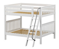 Maxtrix FAT Medium Bunk Bed Full Size White | Maxtrix Furniture | MX-FAT-WX