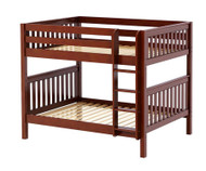 Maxtrix FIT Medium Bunk Bed Full Size Chestnut | Maxtrix Furniture | MX-FIT-CX