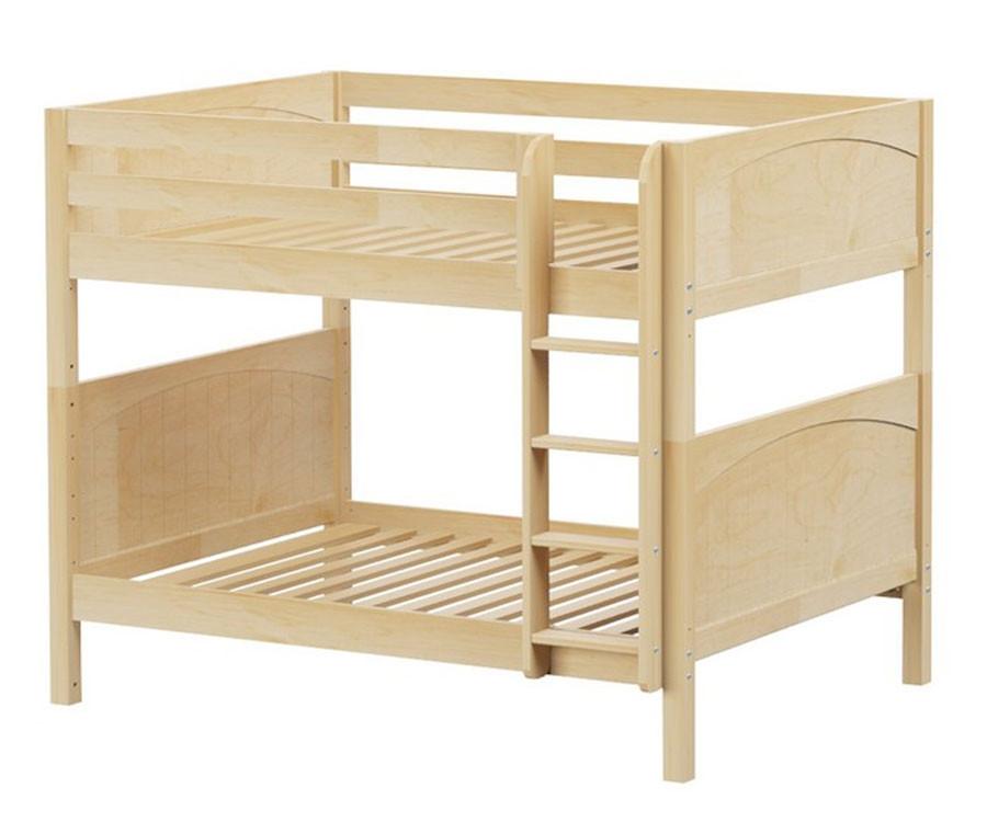 Maxtrix fit medium bunk bed matrix kids furniture solid wood bed frames - Medium sized loft houses ...