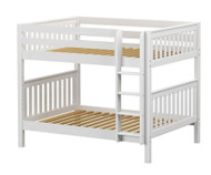 Maxtrix FIT Medium Bunk Bed Full Size White | Maxtrix Furniture | MX-FIT-WX