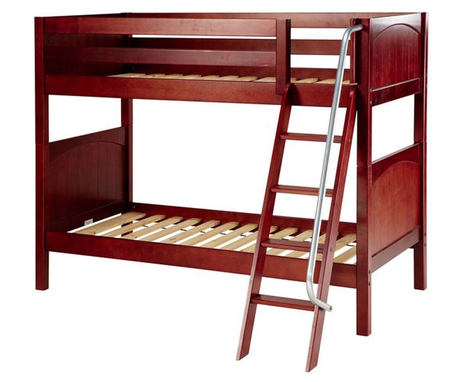 Maxtrix gotit medium bunk bed matrix kids furniture solid wood bed frames Badcock home furniture more pompano beach fl