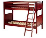 Maxtrix GOTIT Medium Bunk Bed Twin Size Chestnut | Maxtrix Furniture | MX-GOTIT-CX