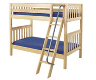 Maxtrix GOTIT Medium Bunk Bed Twin Size Natural | Maxtrix Furniture | MX-GOTIT-NX