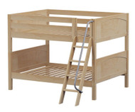 Maxtrix GULP Low Bunk Bed Full Size Natural | Maxtrix Furniture | MX-GULP-NX