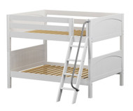 Maxtrix GULP Low Bunk Bed Full Size White | Maxtrix Furniture | MX-GULP-WX
