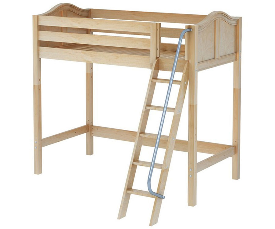 Maxtrix KNOCKOUT High Loft Bed | Matrix Kids Furniture | Solid Wood ...