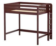 Maxtrix BULKY Ultra-High Loft Bed Full Size Chestnut | Maxtrix Furniture | MX-ULTRABULKY-CX