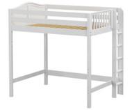 Maxtrix BULKY Ultra-High Loft Bed Full Size White | Maxtrix Furniture | MX-ULTRABULKY-WX