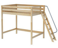 Maxtrix CHUNKY Ultra-High Loft Bed Full Size Natural | Maxtrix Furniture | MX-ULTRACHUNKY-NX
