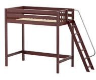 Maxtrix DUNK Ultra-High Loft Bed Twin Size Chestnut | Maxtrix Furniture | MX-ULTRADUNK-CX