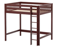 Maxtrix GRAND Ultra-High Loft Bed Full Size Chestnut | Maxtrix Furniture | MX-ULTRAGRAND-CX