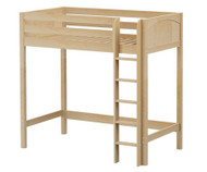 Maxtrix JIBJAB Ultra-High Loft Bed Twin Size Natural | Maxtrix Furniture | MX-ULTRAJIBJAB-NX