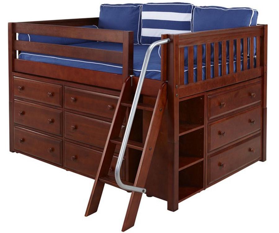 Matrix Full Size Low Loft Bed