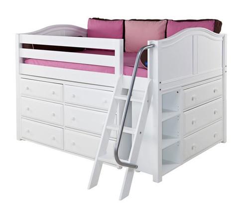 Maxtrix XL3 Low Loft Bed | Matrix Kids Furniture | Solid Wood Bed Frames