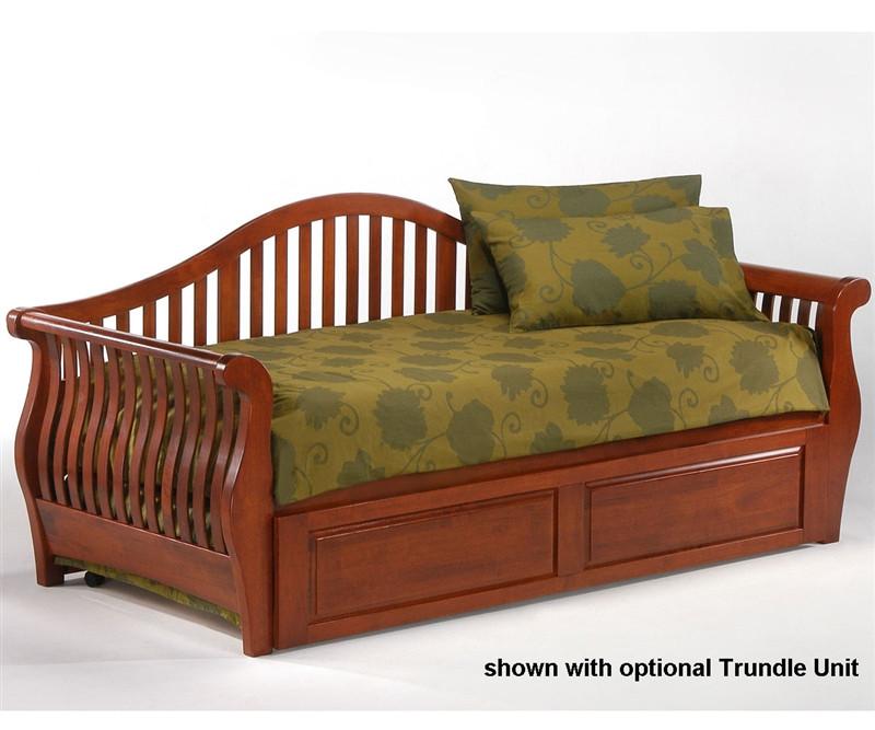 Night and day furniture nightfall twin sofa day bed kids nightfall cherry twin day bed with Badcock home furniture more pompano beach fl