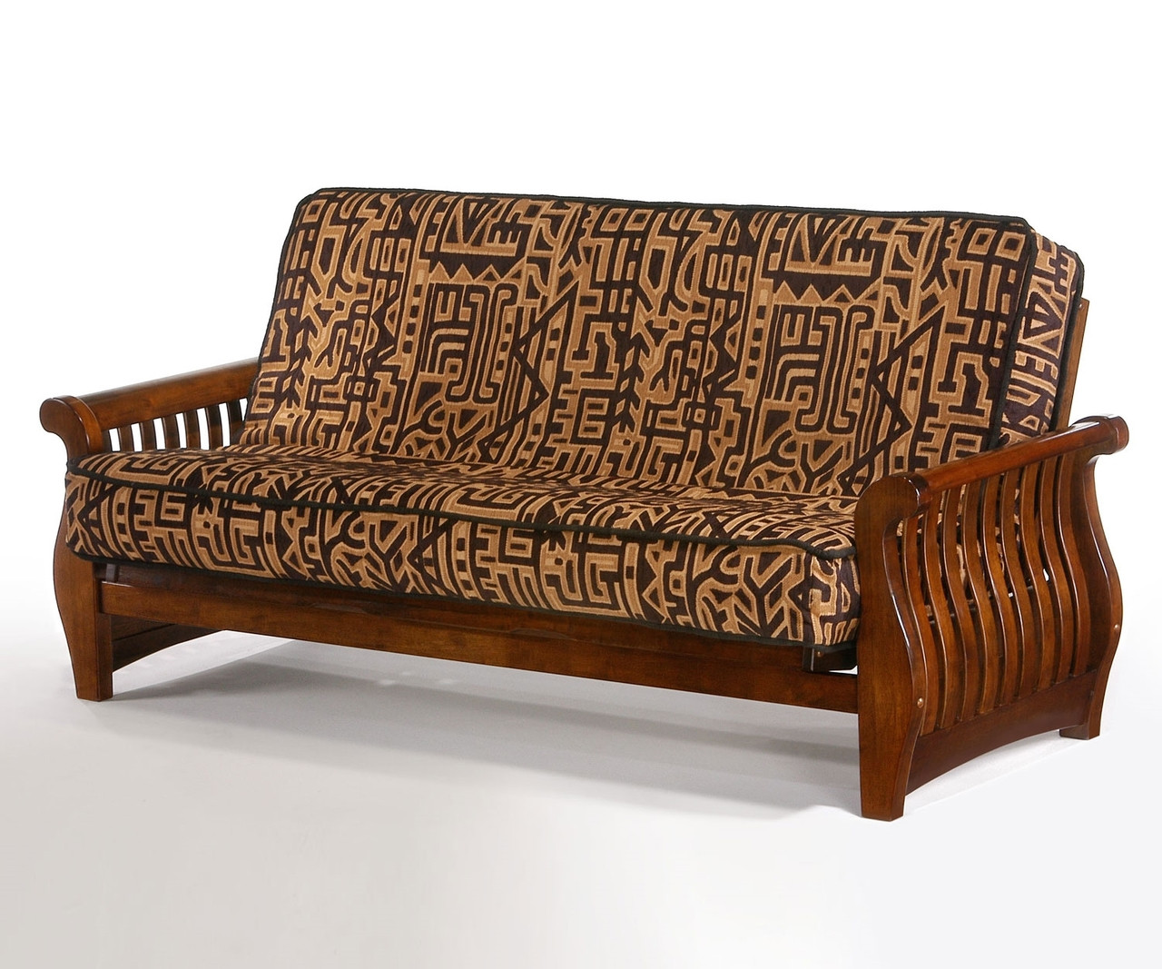 Superbe Nightfall Futon Sofa Black Walnut   Night And Day Furniture    ND Nightfall BW